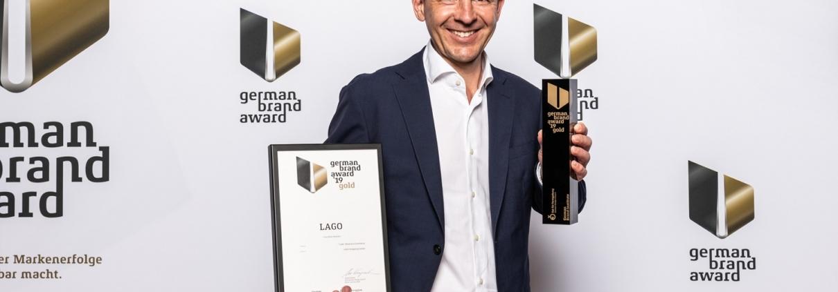 """LAGO Shopping Center gewinnt erstmals den German Brand Award in der Kategorie """"Gold"""""""