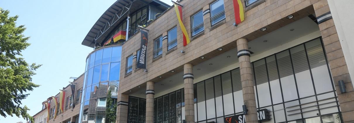 Neue Deutsche Welle Star Markus in der Libori Galerie Paderborn zur Eröffnung des LIBORI FESTES